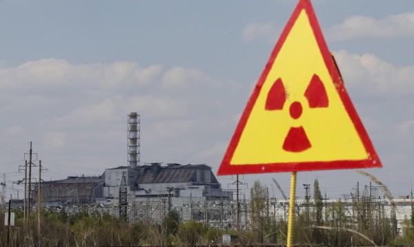 Горски пожар гори в района на Чернобил