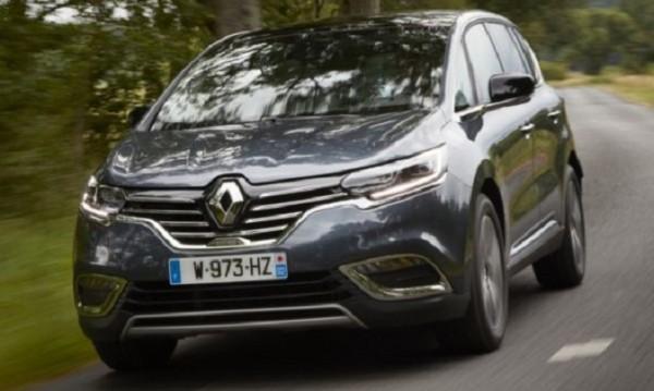 Renault правят Espace спортист с 225 к.с. и битурбо мотор