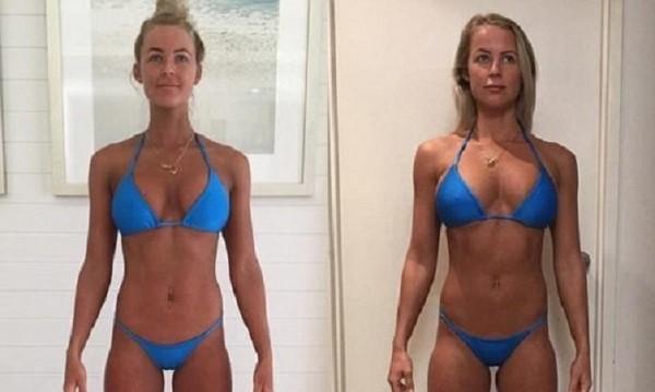 Блогърка качи килограми за красиво тяло