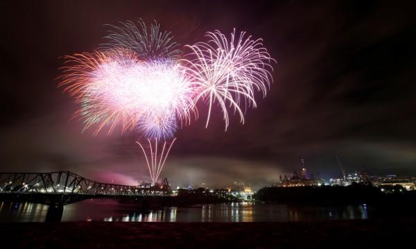 Канада чества пищно 150-ата си годишнина