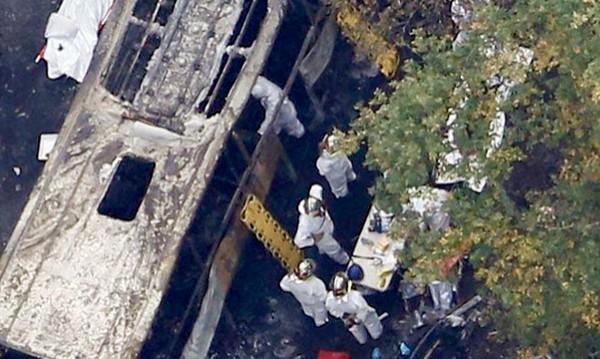 Четиринайсет жертви на катастрофа в Татарстан