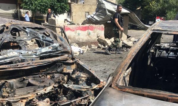 Над 20 жертви на коли бомби в Дамаск
