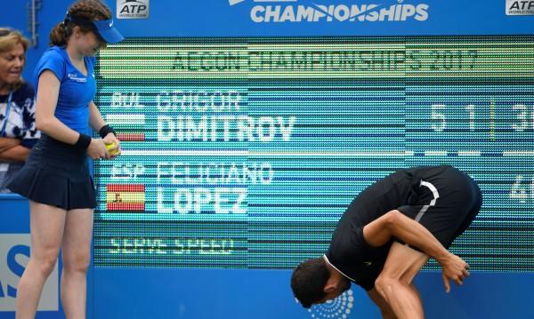 Григор Димитров остава на 5 точки от Топ 10