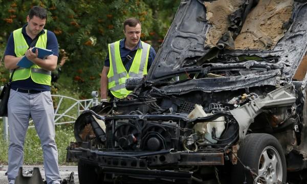 Взривиха колата на бивш дипломат в Одеса