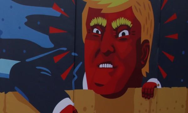 """Състезание за карикатури... На тема """"тръмпизъм"""""""