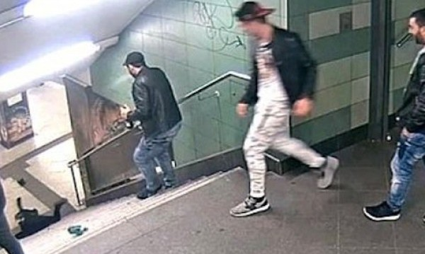 Светослав, Ритащият в метрото, излезе невменяем