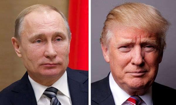Историческо: Първо ръкостискане между Путин и Тръмп