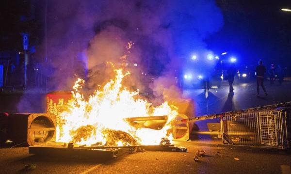 Равносметката в Хамбург: 290 задържани, 213 - ранени полицаи