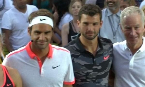 Федерер похвали Григор: Става все по-силен