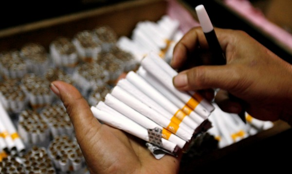 Спипаха 25-годишен турчин със 72 хил. незаконни цигари