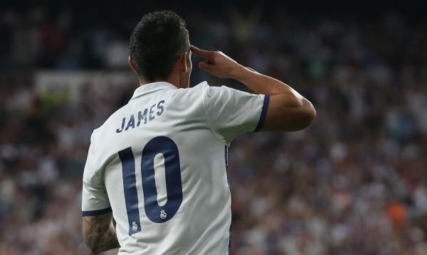 Скандал в Байерн заради номера на Хамес
