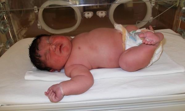 Турач, бебето гигант от Хасково, се родило месец по-рано
