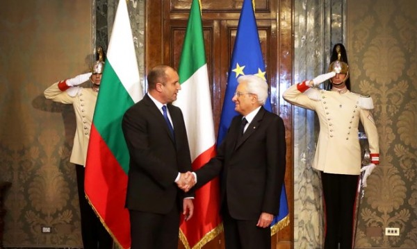 Италия ще ни помага да борим корупцията и престъпността