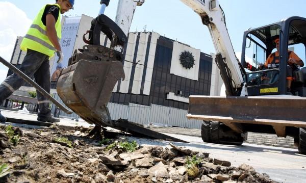 Фандъкова: Площадът пред НДК се ремонтира за първи път