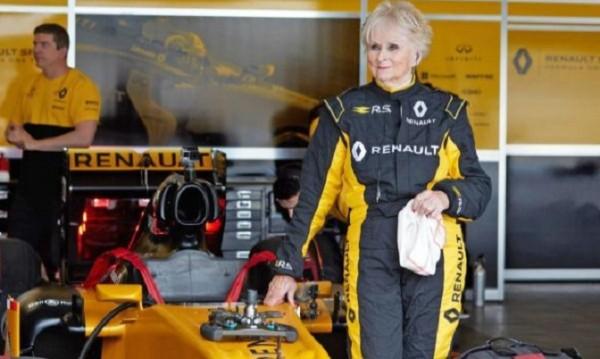 Renault взе пенсионерка за тест пилот във Formula 1