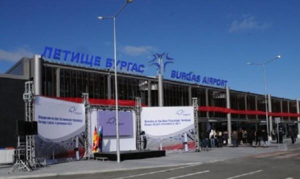 Чешки чартър излезе от пистата на Летище Бургас