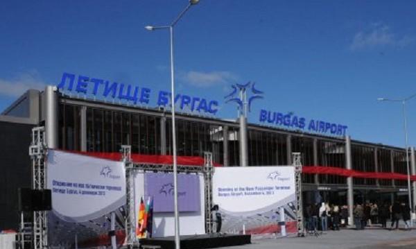 Летище Бургас отново работи нормално