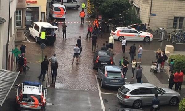 Петима ранени при нападение в Швейцария