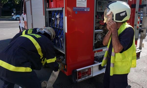 Възпламенилата се кола край Петрич – с газова уредба