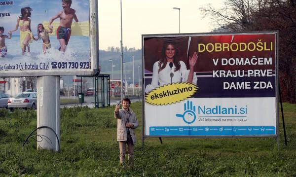 В Родината на Мелания: Бум на туристи в Словения