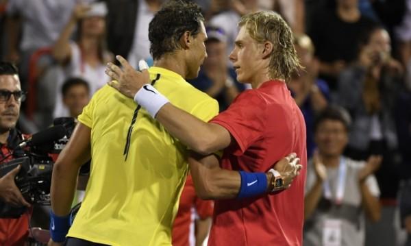 18-годишен изхвърли Надал на 1/8-финалите в Монреал