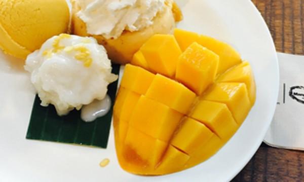 Рецептата Dnes.: Сладолед от манго