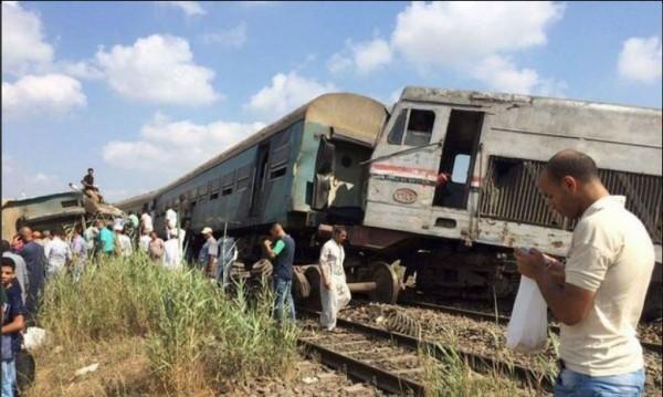 Влакова катастрофа в Египет взе 28 жертви