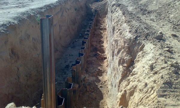 Срещу терора от Газа. Подземна стена от Израел!