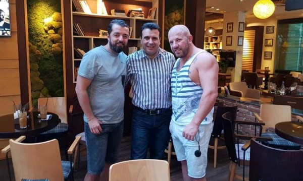 Динко отиде на хване Миленко, а срещна Зоран Заев