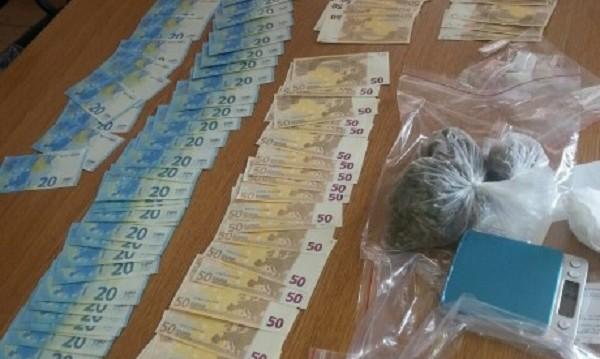 Дрога и фалшиви банкноти – в квартира в Китен