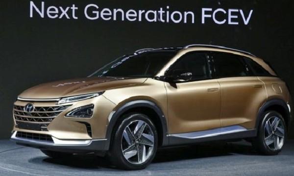 Hyundai демонстрира нов SUV на водород