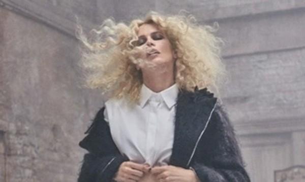 Клаудия Шифър – дивото лице на модата