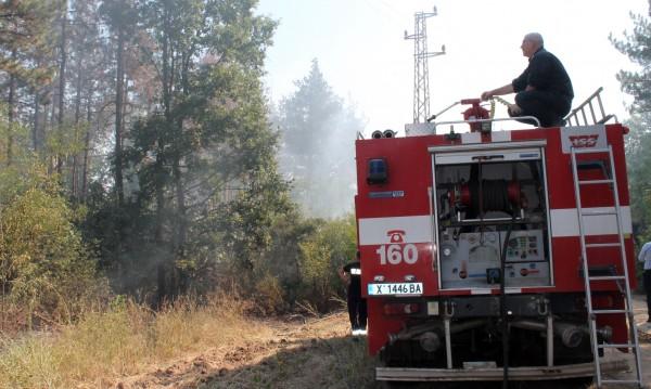 Опасност от големи пожари в 9 области в страната