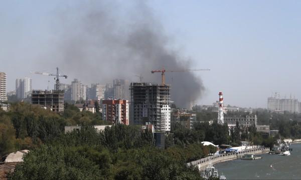120 сгради пострадаха от голям пожар в Ростов на Дон