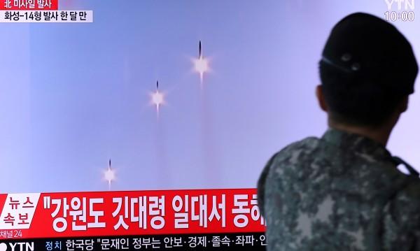КНДР пак изстреля ракети, но с малък обсег