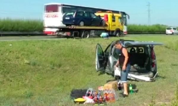 Тежка катастрофа в Унгария – участва български автомобил