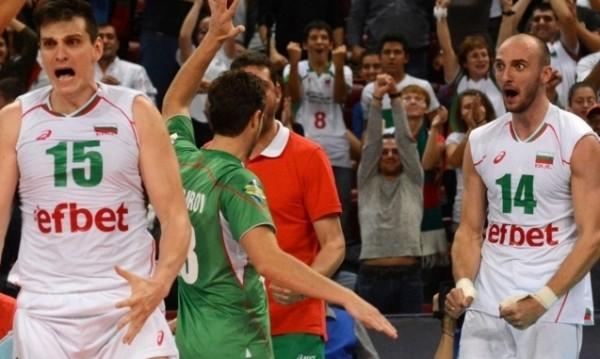 """""""Лъвовете"""" на България размазаха Словения с 3:0"""