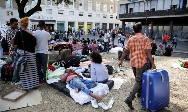 Като Робин Худ: Мигранти в Рим – в имоти на мафията