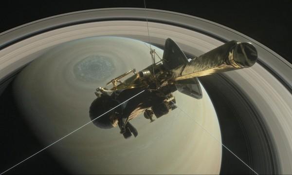 НАСА разкрива: Последният ден от живота на Касини