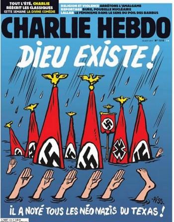 """""""Шарли ебдо"""" излезе с карикатура за Харви"""