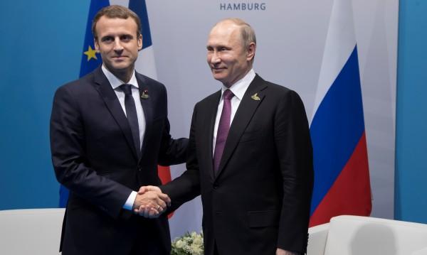 Макрон: Имаме големи различия с Путин за Украйна