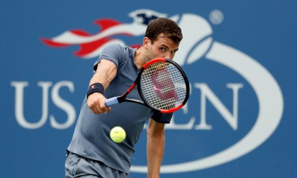 Крах за Гришо: 53-ият в света го изхвърли от US Open