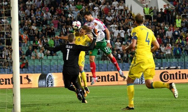 България победи фаворита Швеция с 3:2