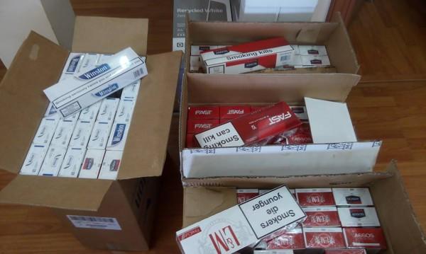 Откриха 197 кашона с контрабандни цигари в каюта на кораб