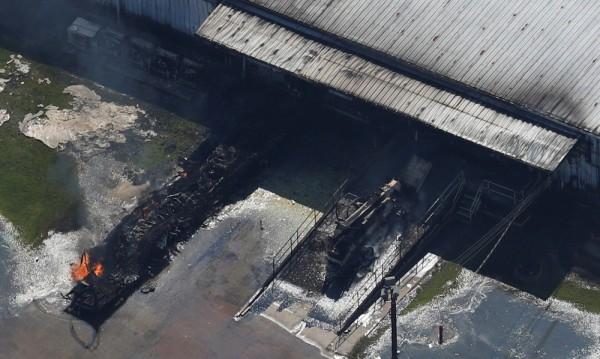 """Нов пожар в химическия завод на """"Аркема"""" в Тексас"""