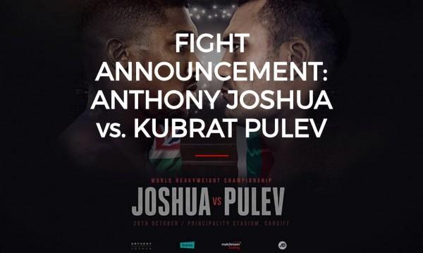 Официално: Кобрата срещу Джошуа на 28 октомври