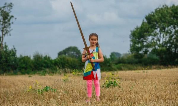 Матилда и мечът Екскалибур: Една щастлива находка