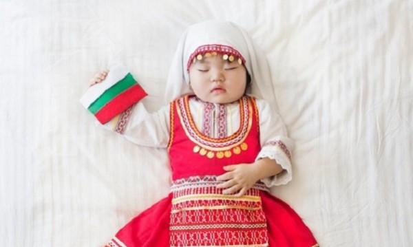 Корейско бебе с българска носия. Защо и как?