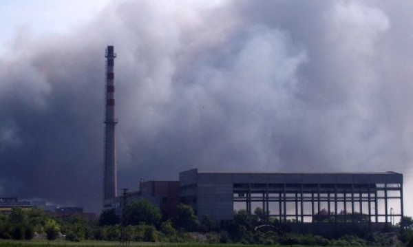 Пак пожар в завода край провдивското село Шишманци