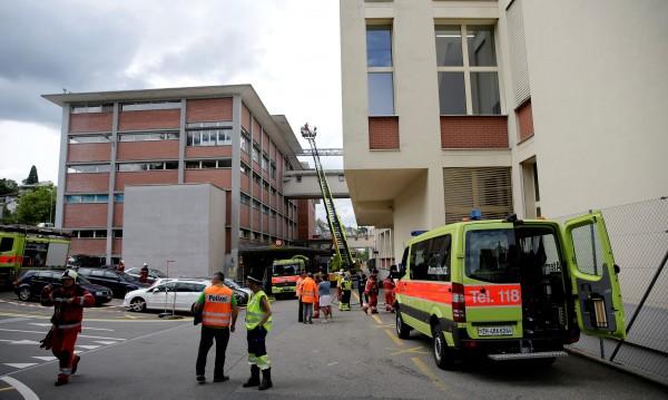 Десетки ранени при сблъсък на два влака в Швейцария